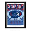 Poster O Grand Finale da missão Cassini - Cartaz retro da NASA