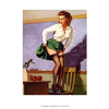 Poster Pin-up Girl: Class Dismissed - 20x30cm