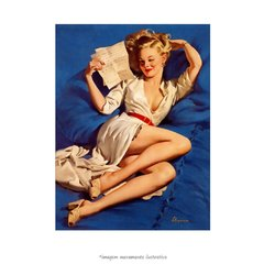 Poster Pin-up Girl: He Thinks I'm Too Good To Be True - QueroPosters.com