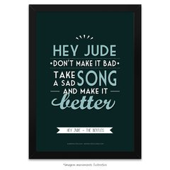 Poster Hey Jude - The Beatles - comprar online