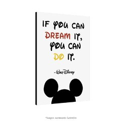 Poster If you can dream it. You can do it. - Walt Disney - QueroPosters.com