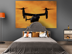 Painel tecido canvas Bell Boeing V-22 - comprar online