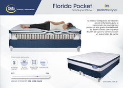 Sommier Inducol y Colchón Resortes Serta Florida Pocket 180x200 - Tatas Home