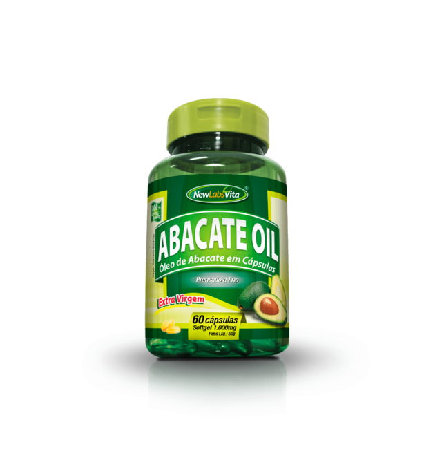 Abacate Oil - 60 Cáps. - 1000mg (New Labs Vita)