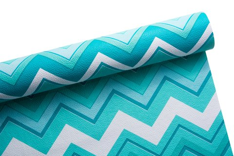 PVC Chevron Decor Verde