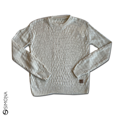 Sweater panal Natural - comprar online