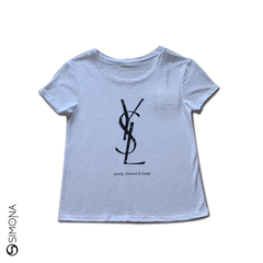 Remera younger Blanco