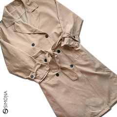 Trench fly Camel - comprar online