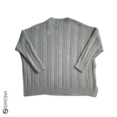 Sweater Anddy Gris - Simona