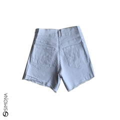 Short mom Blanco - comprar online