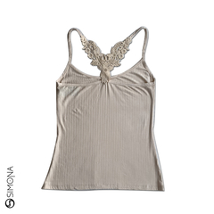 Musculosa Fresia Natural - comprar online