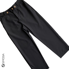 Pantalon Asley Negro - comprar online