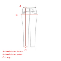 Pantalon Carol Natural - Simona