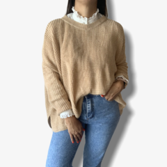 Maxi sweater Camel en internet