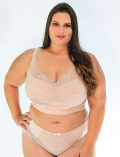 Sutiã Cropped Libertá Plus Size - Divas Plus
