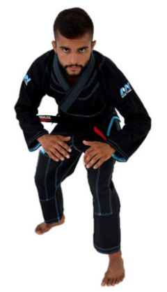 KIMONO BRAZIL COMBAT MAKE WEIGHT PRETO na internet