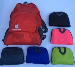 Mochila plegable e impermeable - SuperBolsas®