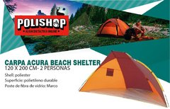CARPA ACURA BEACH SHELTER - 2 PERSONAS