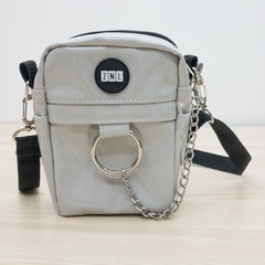 shoulder bag gelo vinil chain