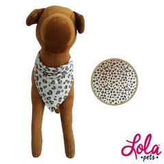 Bandana Animal print camel