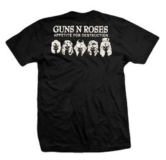 Remera GUNS AND ROSES APPETITE FOR DESTRUCTION - comprar online