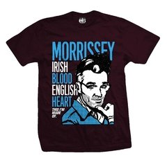 Remera MORRISSEY IRISH BLOOD ENGLISH HEART