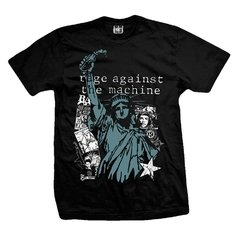 Remera RAGE AGAINST THE MACHINE LIBERTY