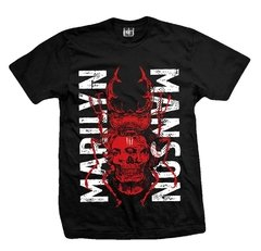 Remera MARILYN MANSON TWO FACES