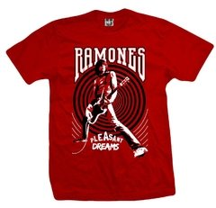 Remera RAMONES PLEASANT DREAMS RED