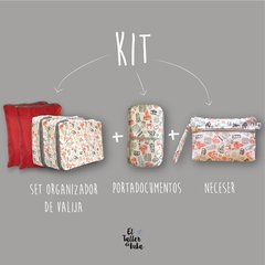 KIT FULL | SET ORGANIZADOR + NECESER + PORTADOCUMENTOS