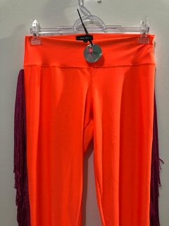 LEGGING ORANGE NEON FRANJA - comprar online