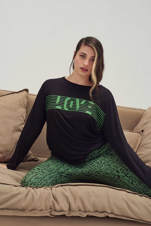 Pijama Love on the Heart Sweet Victorian PROMOCIÒN - comprar online