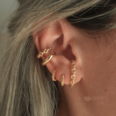 Piercing Corrente - Ouro na internet
