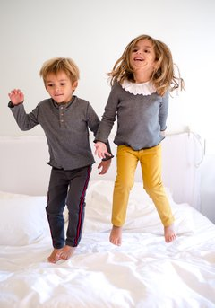Pantalon Malva Mostaza - Belier, baby & child clothing