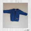 CAMPERA PLUSH AZUL