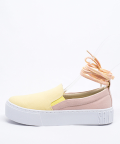 Slip On Santa Lolla Dual Color Rosa Quartzo/Amarelo - 038F.2EA8.02E8.01D8 na internet