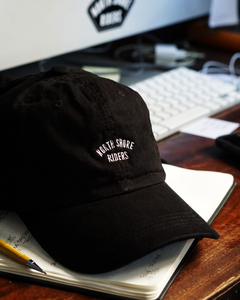 BONÉ DAD HAT LOGO PRETO - NORTH SHORE RIDERS