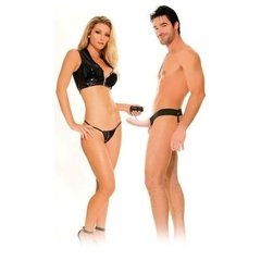 FF Vibrating Hollow Strap On - Arnés Unisex