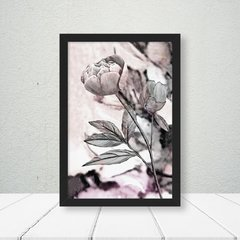 Kit de quadros Flores Abstratas - Quadros decorativos | Pirilampo Decor