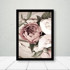 Kit de Quadros Amor e Flores - Quadros decorativos | Pirilampo Decor