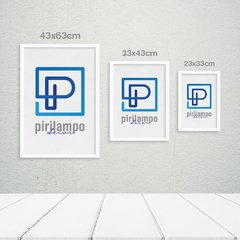 Kit de quadros Modern Triangle Ferrugem na internet