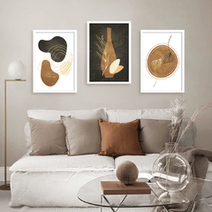 Kit de quadros Art Abstract - comprar online