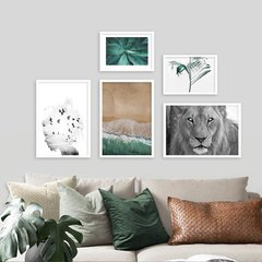 Kit de quadros Green Nature II - comprar online