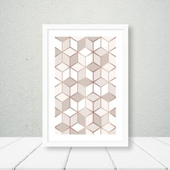Kit de quadros Geometric Classic Rose III na internet