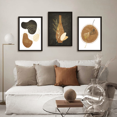 Kit de quadros Art Abstract
