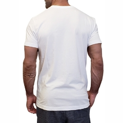 T-Shirt ROKN Reative White - Black Belt - buy online