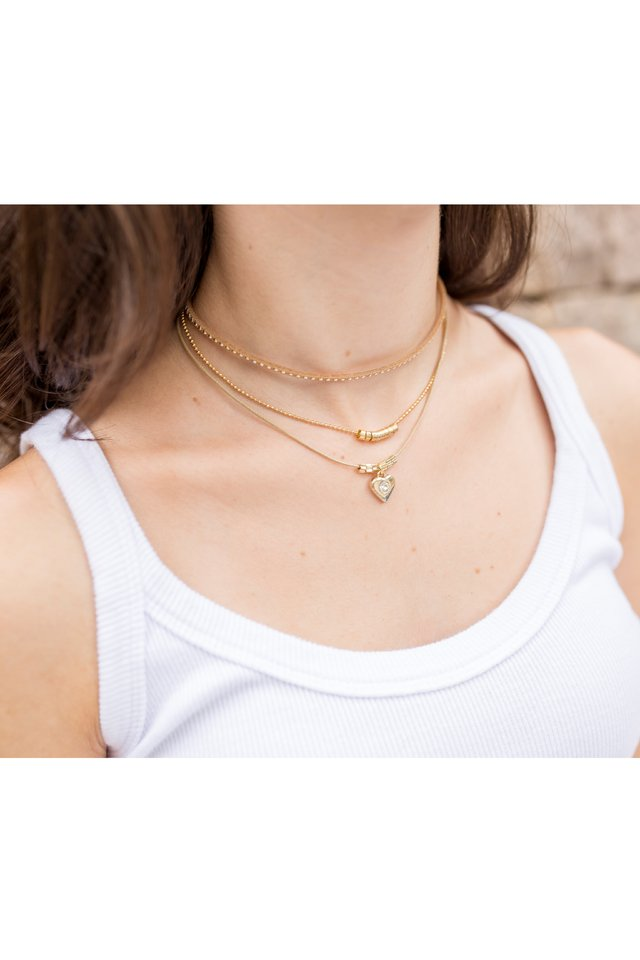 Colar Chocker Beck Ouro na internet