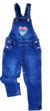 Jardinero Denim Elastizado Beba Facheritos  Art. 220126 Cod. 075572
