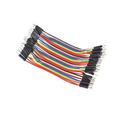 Cable 40pin DuPont Macho-Macho 10cm - Unibot