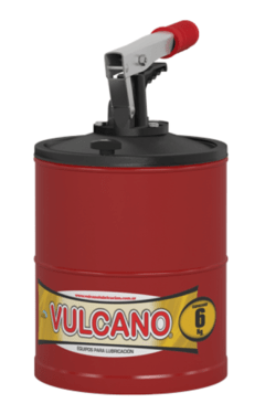 Engrasador manual Vulcano 6 kg. GP165